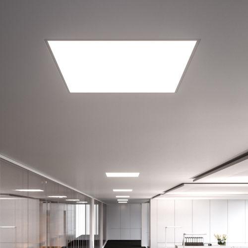 luminaire encastrable au plafond / à LED / carré / en métal