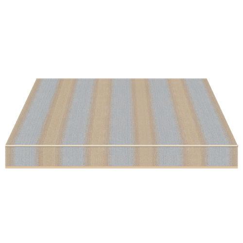 tissu pour protection solaire / à rayures / en acrylique / professionnel