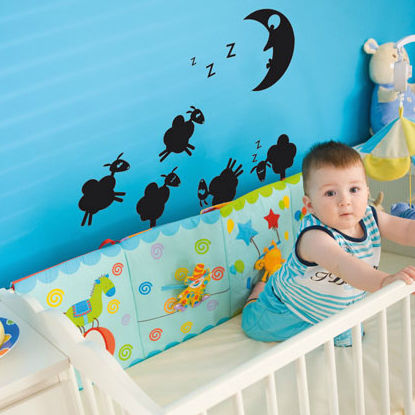 sticker mural animal / ornemental / pour enfant