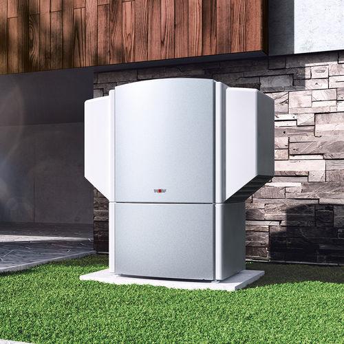 pompe à chaleur air/air / résidentielle / d'extérieur / avec chauffe-eau
