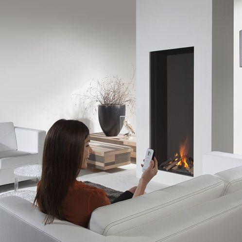 Cheminée à gaz / contemporaine / à foyer fermé / à encastrer SKY MKII Element4 B.V.