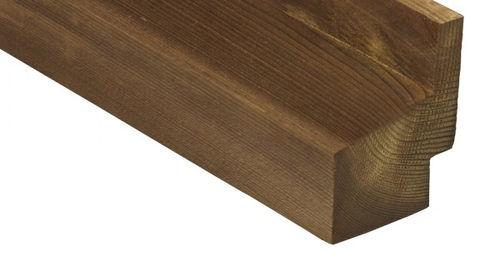 Bardage en bois de feuillus / lisse / en lames / durable 1217 Kebony