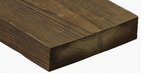 Bardage en bois de feuillus / lisse / en panneaux / durable 1407 Kebony