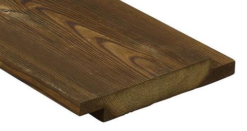 bardage en bois de feuillus - Kebony