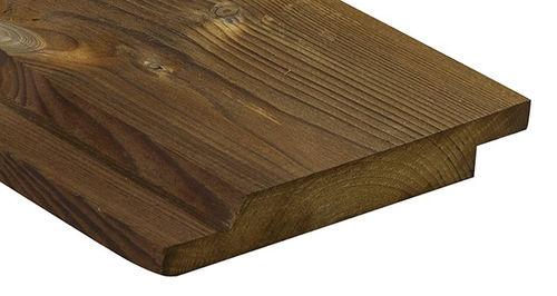 Bardage en bois de feuillus / lisse / en panneaux / durable 2240 Kebony