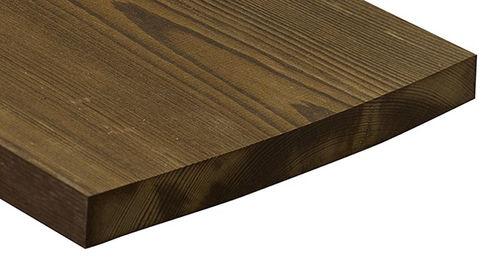 Bardage en bois de feuillus / texturé / lisse / en panneaux 2338 Kebony