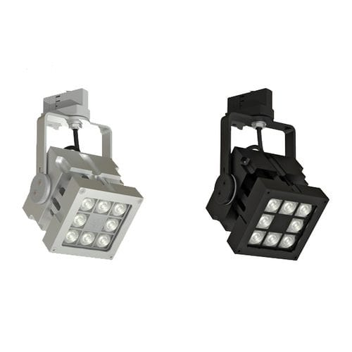 Éclairage sur rail à LED / carré / en aluminium / professionnel REVO TRACK MAINS DIMMABLE CLS LED