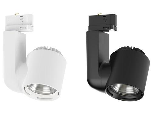 Éclairage sur rail à LED / rond / en aluminium / professionnel JADE S CLS LED