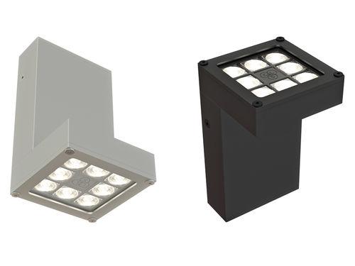 Applique murale contemporaine / en aluminium / à LED / carrée HYLO UP OR DOWN CLS LED