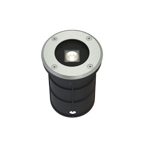 luminaire encastré / à LED / rond / d'extérieur