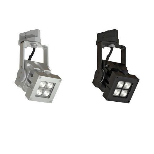 Éclairage sur rail à LED / carré / en aluminium / professionnel REVO COMPACT  CLS LED