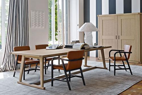 table à manger contemporaine / en chêne / rectangulaire / par Antonio Citterio
