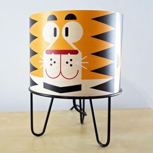 lampe de table / contemporaine / en métal / en papier