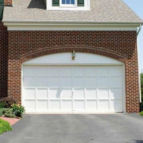 portail sectionnel / en métal / à lames / pour garage