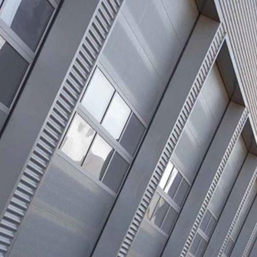 fenêtre basculante / en inox / pour bâtiment tertiaire