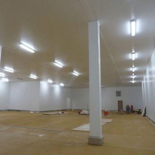 panneau décoratif en acier / pour plafond / à grande résistance / poli