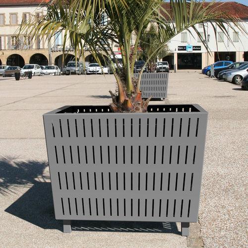 Jardinière en acier / carrée / contemporaine / pour espace public ALTITUDE ACCENTURBA