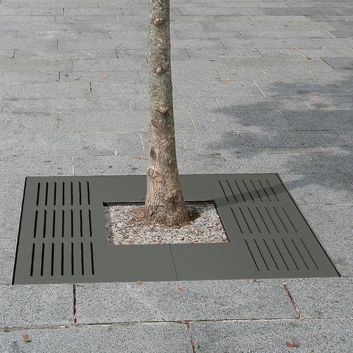 Grille d'arbre en acier / carrée AZIMUT ACCENTURBA