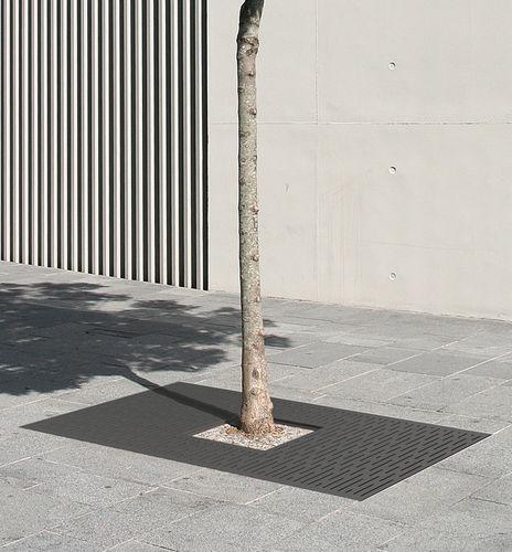 Grille d'arbre en acier / autre formes PANORAMIC ACCENTURBA