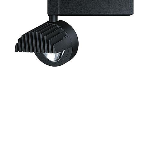 éclairage sur rail à LED / rond / en aluminium / pour commerce