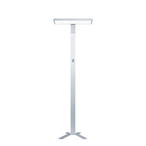 lampe sur pied / contemporaine / en aluminium / en acier