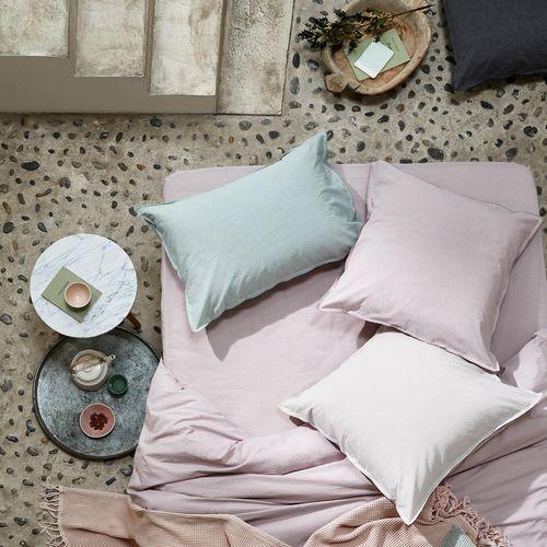 taie d'oreiller en coton / en fibre naturelle / en polyester