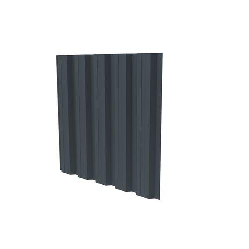 bardage en tôle / nervuré / en plaques / pour façade ventilée