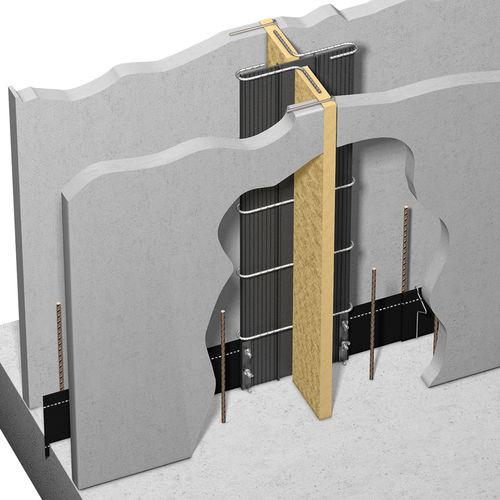 isolant acoustique / en fibre de bois / pour mur / en panneaux