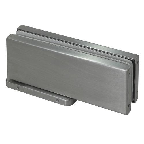 charnière de porte / en inox / hydraulique