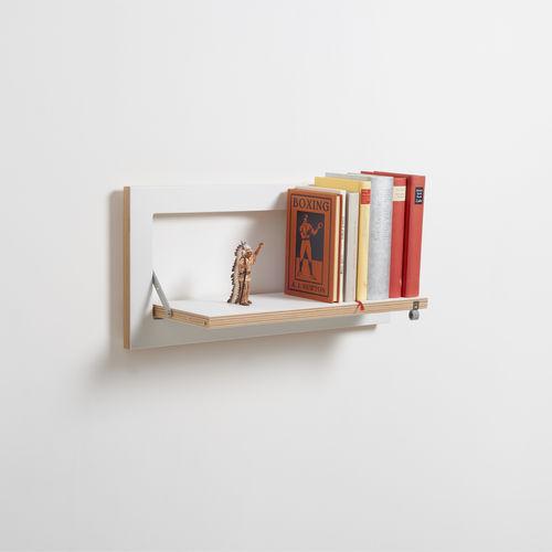étagère murale / modulable / design minimaliste / en bouleau