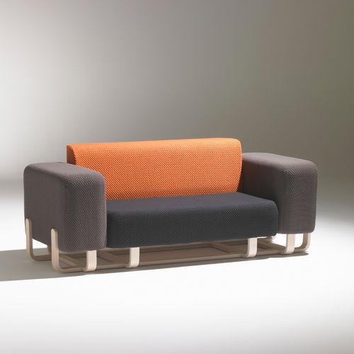 canapé modulable / contemporain / en tissu