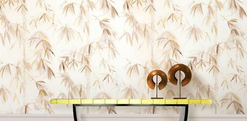 Papiers peints classiques / en coton / à motif nature / peints à la main BAMBOO FOREST II BuenaVentura