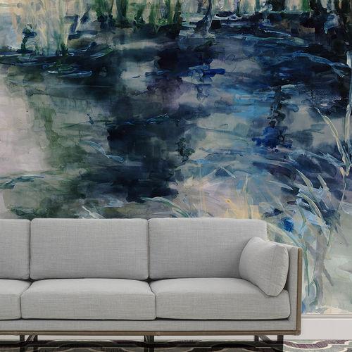 Papier peint personnalisé / contemporain / en coton / motif nature WATER REFLECTIONS BuenaVentura