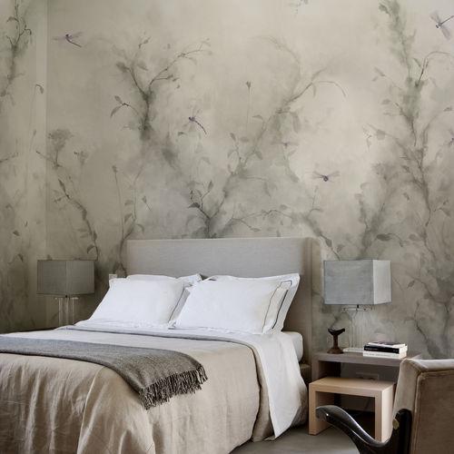Papiers peints classiques / en coton / à motif nature / à motifs animaliers LIBELLULA BuenaVentura