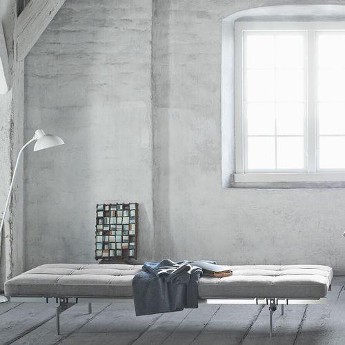 lit de jour contemporain / en tissu / en cuir / résidentiel
