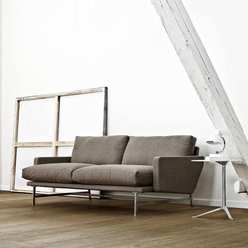 Canapé contemporain / en tissu / en cuir / en acier inoxydable LISSONI Fritz Hansen