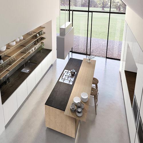 cuisine contemporaine / en ardoise / en inox / en acier