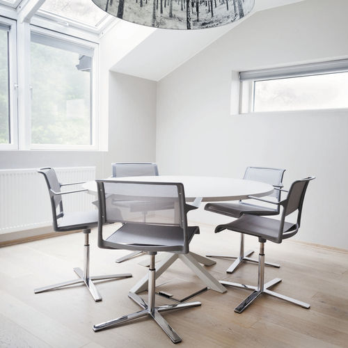 chaise de conférence tapissée - Wilkhahn