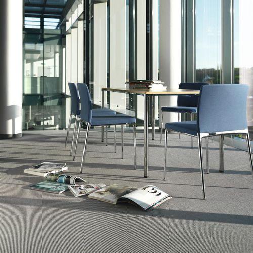 Chaise de conférence tapissée / avec accoudoirs / empilable / à dossier haut CENO by Laüfer & Keichel Wilkhahn