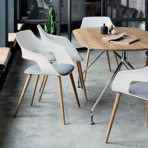 chaise visiteur contemporaine - Wilkhahn