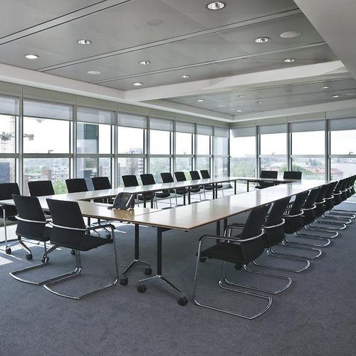 Table de réunion contemporaine / en bois / rectangulaire / pour établissement public TIMETABLE by Andreas Störiko Wilkhahn