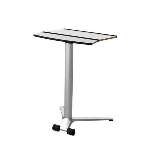 Table d'ordinateur contemporaine / en métal / professionnelle / à roulettes CONFAIR by Wiege, Fritz Frenkler, Justus Kolberg Wilkhahn