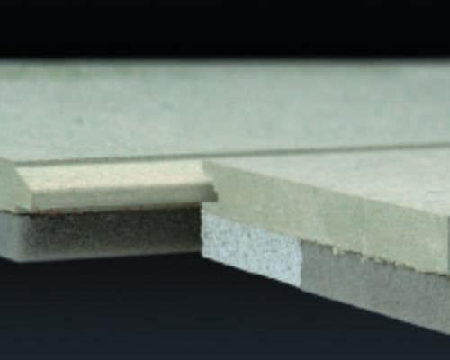 isolant acoustique / en fibre de bois / pour plancher / en panneaux