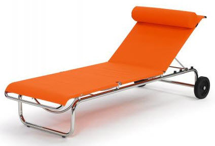 chaise longue contemporaine DIA by Gioia Meller Marcovicz CLASSICON