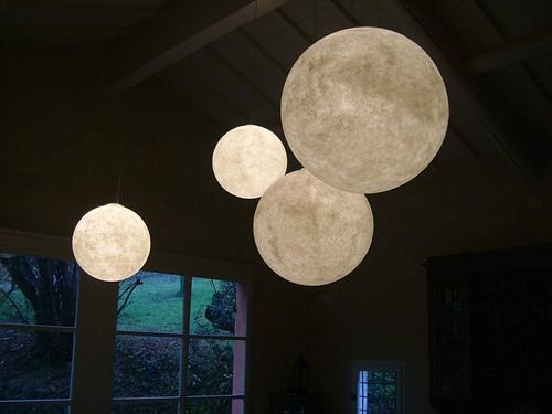 lampe suspension contemporaine LUNA 1/2/3/4 in-es artdesign