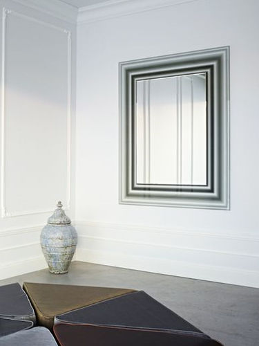 miroir mural contemporain ILLUSION by Ann Grymonpon Reflect +