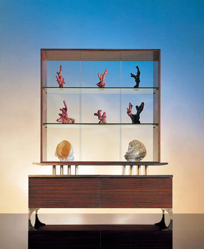vitrine contemporaine SC 1002 OAK DESIGN
