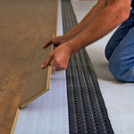 isolant thermique / en synthétique / pour intérieur / pour plancher