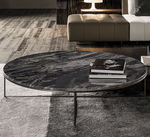 Table basse / contemporaine / en fer / en marbre CALDER Minotti