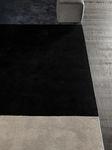 tapis contemporain / à rayures / en laine / rectangulaire